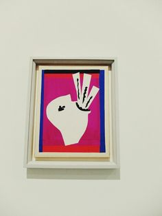 My favourite exhibit from Henri Matisse - Cut-Outs at Tate Modern (click to read)