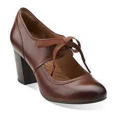 121ed8f0f39 Take a look at this Clarks Cognac Town Cloak Pump - Women on zulily today!