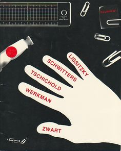 Cohen, Arthur A.. EX LIBRIS 13: LISSITZKY / SCHWITTERS / TSCHICHOLD / WERKMAN / ZWART. New York: Ex Libris, 1985. First Edition. 8vo. Stapled Illustrated Wrappers. Bookseller's Catalogue. Near Fine. np (26pp), profusely illustrated in b Designed by Tamar Cohen and Elaine Lustig Cohen.
