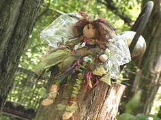 Make a Garden Fairy Doll - on HGTV