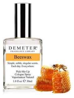 "Beeswax from Demeter Fragrances. I frickin love ""honey"" smells!"