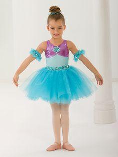 Cassandra's Spring Recital Costume...  Part of Your World - Style 0457   Revolution Dancewear Children's Dance Recital Costume