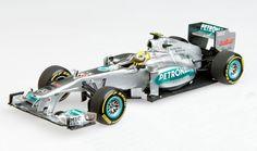 Mercedes AMG Petronas F1 Team, N. Rosberg in 1:43 - more modern F1 from Minichamps