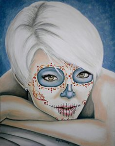 Check out this item in my Etsy shop https://www.etsy.com/listing/196549944/day-of-the-dead-giclee-print-los-ojos-lo