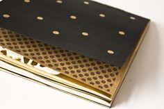 Notebook Golden Dots