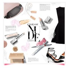 """""""How to Look Good...Nude!"""" by metropulse ❤ liked on Polyvore featuring Gucci, nikki lissoni, La Prairie, Ted Baker, Kate Spade, Valentino, Burberry, Bobbi Brown Cosmetics, Hourglass Cosmetics and JINsoon"""