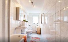 Schlichtes, helles Badezimmer in Frankfurt am Main  #WG #Badezimmer #Frankfurt
