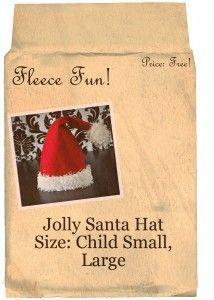 santa hat child
