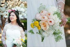 Nashville TN Wedding Photographer | Styleblueprint | SBGuide | Tausha Ann Photography | Bride | Bouquet