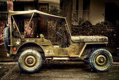 "Willys MB #Jeep named ""Delilah"""