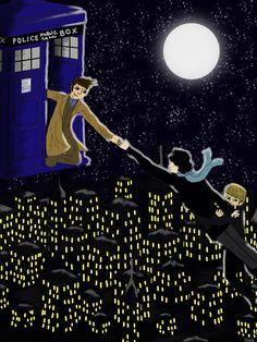 Doctor Who/Sherlock Inspired Fan Art