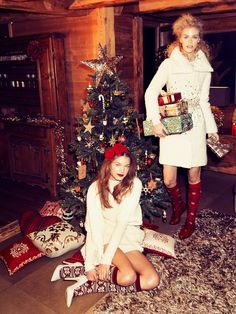 Fashion Feed : Merry Christmas By Vanity Fair Italia 27th December 2013