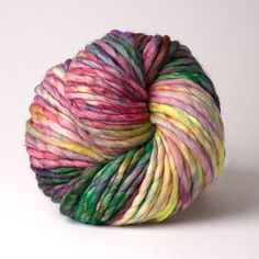 Arco Iris - I wish cheaper yarn came in colors like this.
