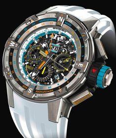 Richard Mille RM 60-01 Regatta Flyback Chronograph St-Barths Edition 2015 - Perpetuelle
