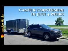 Cargo Trailer to Camper Conversion - How We Did It in 4 weeks - Elisabeth Utility Trailer Camper, Cargo Trailer Camper Conversion, Box Trailer, Trailer Diy, Trailer Storage, Cargo Trailers, Camper Trailers, Travel Trailers, Travel Camper