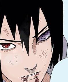 Uchiha Sasuke with Jūbi Eye