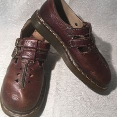 Dr.Martens Mary Jane shoes size 6 Great quality shoes just has some wear and trace of dirt inside but overall looks good outside and has more life left. Dr. Martens Shoes Flats & Loafers