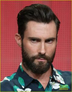omg that sexy sexy beard adam levine you and your good looks