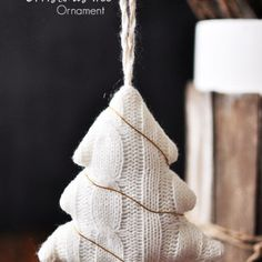 Wire Wrapped Christmas Tree Ornament