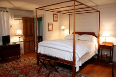 The historic Inn at Bingham School in Mebane, North Carolina is nestled on ten acres of rolling farmland with 2.5 miles of walking trails surrounded by 180 acres of nature preserve.