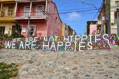 #Valparaiso #Hippies #mustangconny #MS Hanseatic