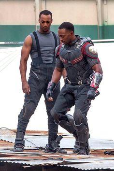 Filming Captain America: Civil War