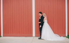 Keeping it country--barn wedding