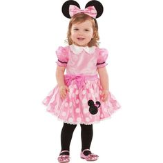 Baby Pink Minnie Mouse Costume