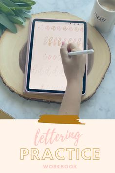 Brushly Faith Lettering Journal for Procreate Hand Lettering Practice, Nice Handwriting, Digital Art Tutorial, Ipad Art, Hand Lettering Tutorial, Planner Stickers, Illustration, Best Procreate Brushes, Artsy