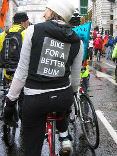 Bike for a Better Bum