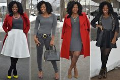 One $12 Transitional Dress Styled 10 Genius Ways