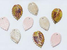 Hojas de cerámica de excelente calidad: producto hecho en España - #Beryllos: #abalorios, #cuentas y #fornituras.