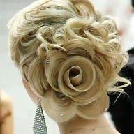 Insane flower bun! If only I had long hair!