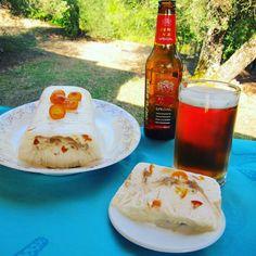 Παγωτό γιαούρτι παρφέ με κουμ κουάτ και σιρόπι μπύρας Corfu Real Ale Special