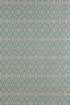 Ballard Designs Keira Peacock heavy basket cotton rayon fabric by the yard aqua #LacefieldDesigns
