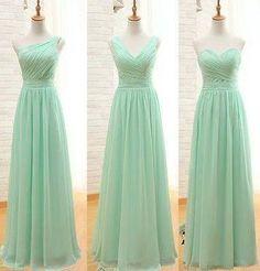 seafoam green bridesmaid dress - Google Search