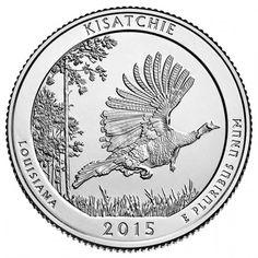 2015 Kisatchie National Forest Quarter for Louisiana