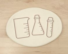 Beaker Chemistry Cookie Cutter Science Cookie Cutter by RochaixCo