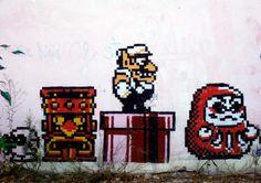 graffiti art, Granada, Spain