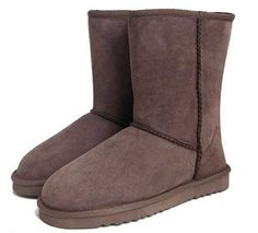 Chocolate Classic Short UGG Boots.The Christmas promotion! Our Price : $150.00 Sale Price :$89.00 Save: 41% off!!