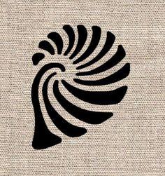 Seashell Stencil by CutItOutStencil on Etsy, $12.00