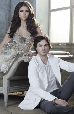 The Vampire Diaries - Damon + Elena