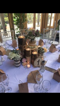 Bar Mitzvah Decorations, Bridal Shower Decorations, Wedding Centerpieces, Wedding Table, Rustic Wedding, Wedding Decorations, Wedding Ideas, November Wedding, Couple Shower