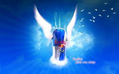 Not only does it get me through those all nighters but what the brand does excites me #adrenalinejunkie #redbull