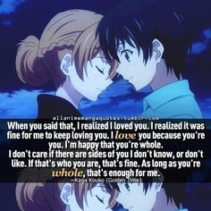 anime, golden time, and love image