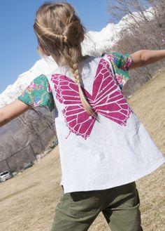 Butterfly wings tips