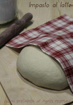 Impasto al latte per panini e brioches - cucina preDiletta