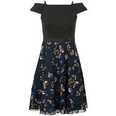 Jurk met petticoat Zwart - Steps. €127,95