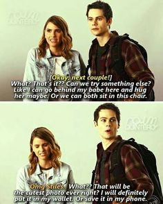 #TeenWolf - Malia and Stiles
