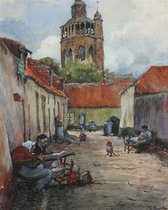 Jules de Bruycker was born in Ghent in a younger contemporary of James Ensor. Bruges, Luxembourg, Lacemaking, Graphic Art, Photos, Photographs, Cathedral, Fine Art, Statue